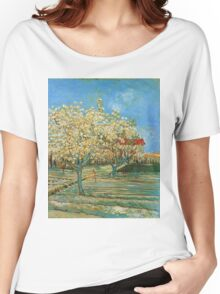 Vincent Van Gogh - Orchard In Blossom, 1888 02 Women's Relaxed Fit T-Shirt