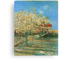 Vincent Van Gogh - Orchard In Blossom, 1888 02 Canvas Print