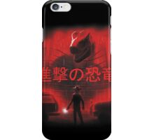 Attack on Dinosaur (Red) iPhone Case/Skin