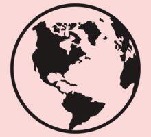 World map globe Kids Clothes