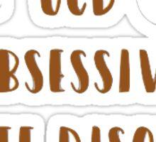 OCD Sticker