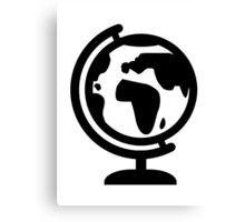 Globe europe africa Canvas Print