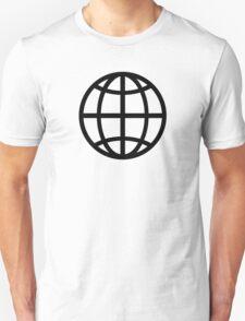 Globe icon T-Shirt