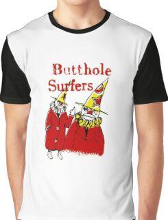 Butthole Surfers Clowns Graphic T-Shirt