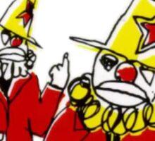 Butthole Surfers Clowns Sticker