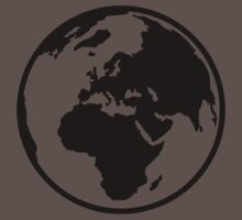 World map africa europe One Piece - Short Sleeve