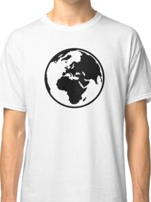 World map africa europe Classic T-Shirt