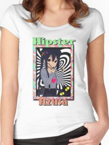 Hipster Azusa - Non-muted Women's Fitted Scoop T-Shirt