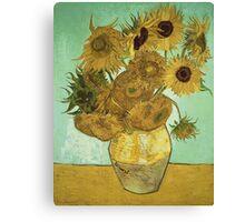 Vincent Van Gogh - Sunflowers 1888 Canvas Print
