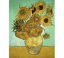 Vincent Van Gogh - Sunflowers 1888 Photographic Print