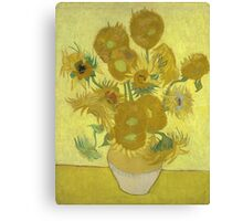 Vincent Van Gogh - Sunflowers 1989 Canvas Print