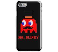 Mr. Blinky  iPhone Case/Skin