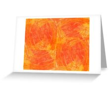 20160911 Flames no. 1 Greeting Card