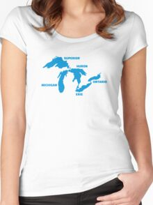 Great Lakes Women's Fitted Scoop T-Shirt