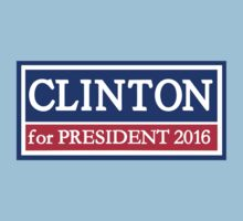 Hillary Clinton for president 2016 Kids Clothes