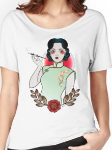 Chinese Girl Women's Relaxed Fit T-Shirt