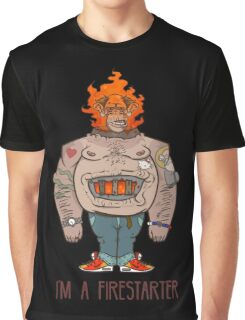 FIRESTARTER Graphic T-Shirt