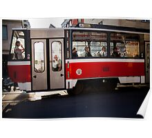 red tram Poster