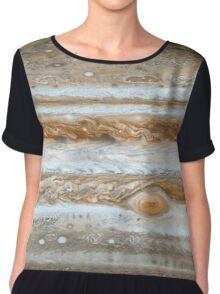 Jupiter's Clouds Chiffon Top