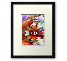 Dinner On The Run Framed Print