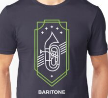 Baritone - White & Green Unisex T-Shirt