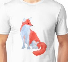 Cute Fox with Fluffy Tail Unisex T-Shirt