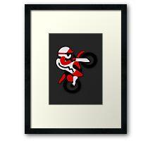 Excite Bike Framed Print