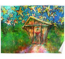 Kaleidoscope Skies Poster