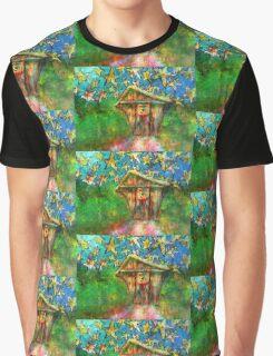 Kaleidoscope Skies Graphic T-Shirt