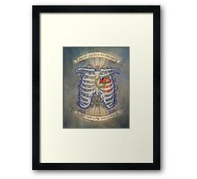 Big Bird in a Small Cage Framed Print