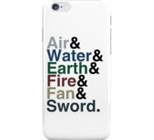 Avatar - Sokka's Speech iPhone Case/Skin