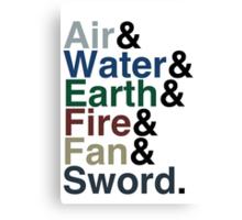 Avatar - Sokka's Speech Canvas Print