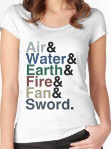 Avatar - Sokka's Speech Women's Fitted Scoop T-Shirt