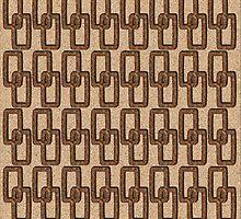 Cork Links Masculine Pattern by Betsy Bush