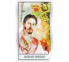 King of Wands Keanu Poster