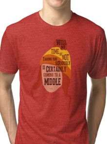 Coming To A Middle Tri-blend T-Shirt