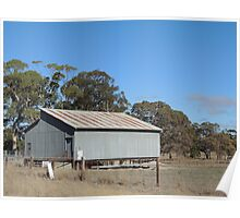 Outback Shed Poster