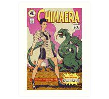 Chimaera comic book  Art Print