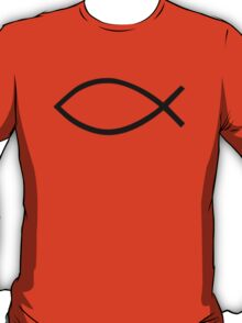 Jesus fish symbol T-Shirt