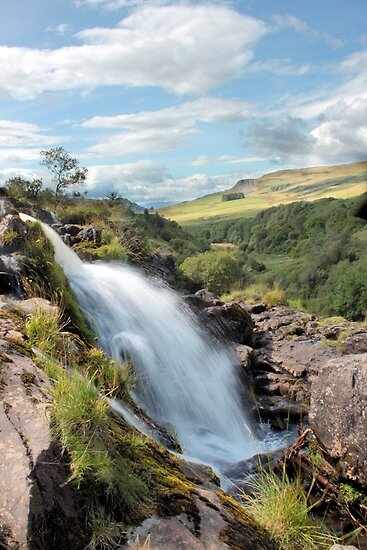 Flow - Loup of Fintry by Cat Perkinton
