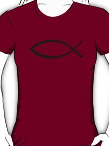 Jesus fish icon T-Shirt
