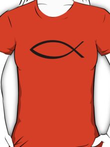 Jesus fish icon T-Shirt