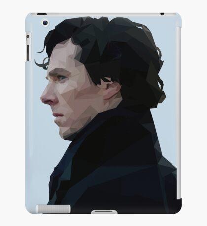 Sherlock Holmes Low Poly iPad Case/Skin