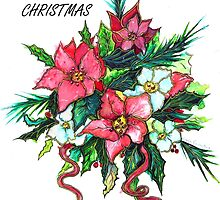 Christmas Flowers by Linda Callaghan