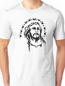 Jesus head Unisex T-Shirt