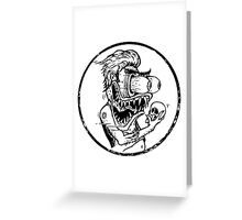 Roth's Hamlet - Wht filled  Greeting Card