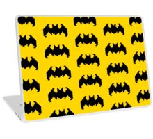 Bat pattern - pixel art Laptop Skin