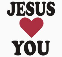 Jesus loves you by Designzz