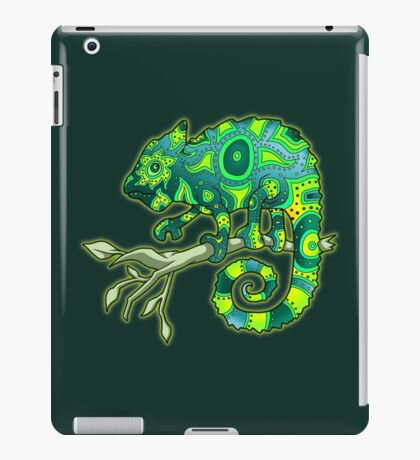 Chameleon (Green) iPad Case/Skin