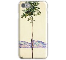 Egon Schiele -Little Tree  iPhone Case/Skin